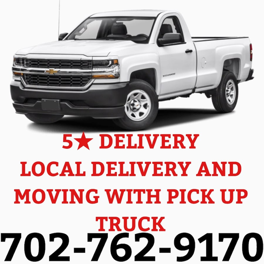 Local moving and delivery with pick up truck