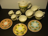 ROSENTHAL VERSACE IVY LEAVES PASSION CHINA TEA•COFFEE•POT•CUPS•SAUCERS 27 PC SET Richmond Hill