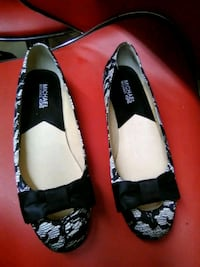 Michael kors black and white flats with bow Stoughton, 02072