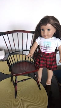 Wooden chair fit for American girl doll Toronto, M9A 4M6