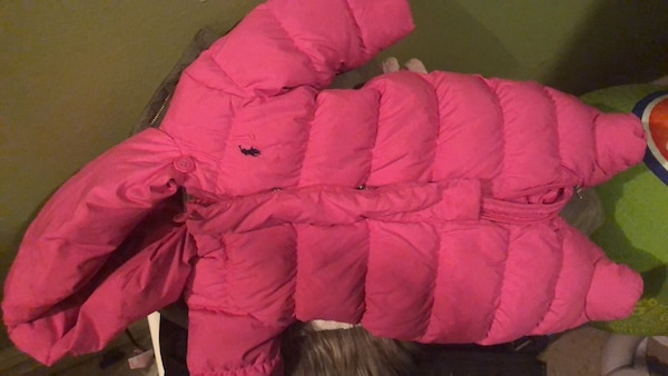 31217e2f2 Used Ralph Lauren pink babygirl snow suit for sale in New York - letgo