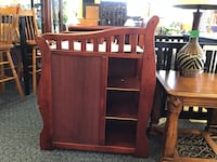 Cherry Wood Changing Table  Virginia Beach, 23462