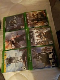 Xbox One game case lot 2472 km