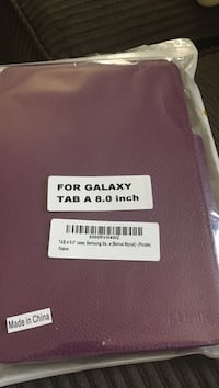 Purple leather Galaxy tablet case Mesa, 85210
