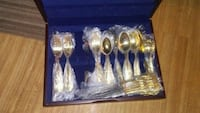 gold-colored spoon and fork set Abilene