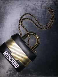 MOSCHINO X H&M Lock Bag Exclusive Toronto