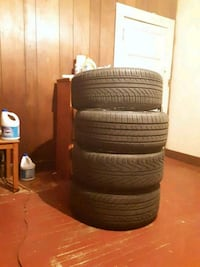 24 inch Bentchi rims with tires