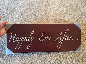 Sign of Love - Wooden sign decor