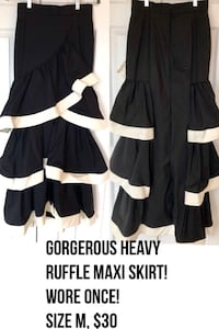 Gorgeous ruffle skirt wore once!! Chantilly, 20152