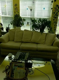 green fabric 3-seat sofa Summerville, 29483