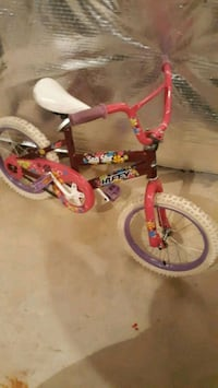 4-7 year old girl bike Clinton