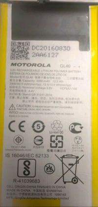 Motorola Moto Z-play original battery replacement