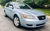 2007 Pearl Blue Hyundai Sonata // 4 Cylinder// Drives Excellent Silver Spring