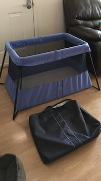 BABYBJÖRN Travel Crib in Blue Milpitas, 95035