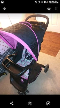 Lift and fold travel stroller - girls Laurel