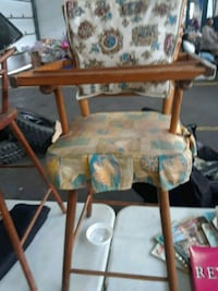 Doll high chair vintage 286 mi