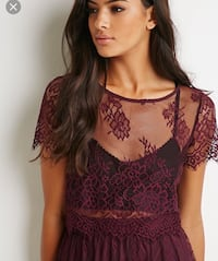 Purple Lace Blouse Surrey, V3R 2E7