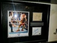 Macho Man & Andre the Giant signed  Toronto, M1L 2T3