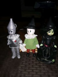 SALE PRICE 3 WIZARD OF OZ 6IN TALL COLLECTABLE FIG