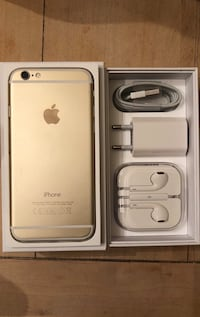 Gold iPhone 6 mit Box