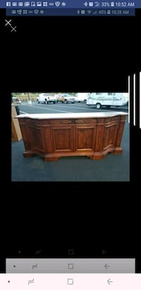 8ft long buffet server  comes with key. In excelle Sterling, 20166
