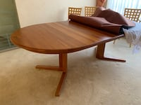 Teak Dining Room Table & Chairs Vancouver, V6P 1G4