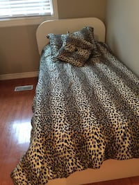 Twin bed and new barely used mattress for $200 (two available) Woodbridge pick up!  Bolton, L7E 2K9