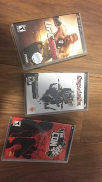 PSP games $5 each  New Westminster
