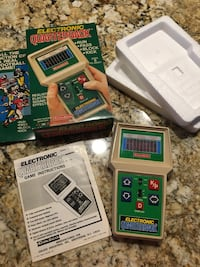Vintage football video game mint condition