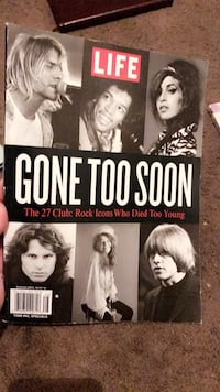 Gone Too Soon The 27 Club Lancaster, 43130