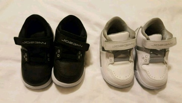 c43447be4b0799 Used Infant jordans black and white for sale in Livonia - letgo