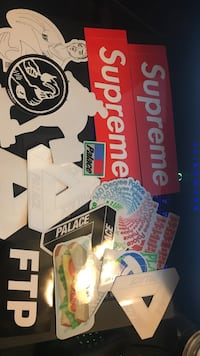 Supreme, FTP, Palace stickers Temperance, 48182