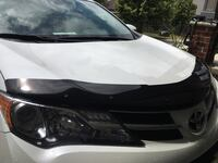 RAV 4 Hood deflector complete with all attachment devices. Make you car look sleek and protect the hood. Sells for $150+elsewhere. Excellent shape. Fits 2015 2016 for sure. Not sure of others years   London, N6K 4Z5