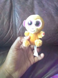 yellow monkey plush toy Tampa, 33619