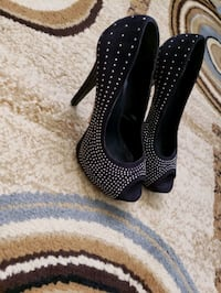 black dressy  shoes