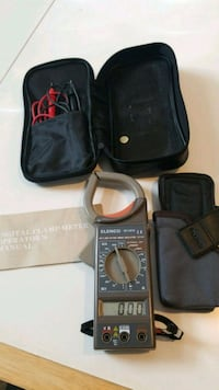 Elenco St 1010 Digital Clamp Meter  with case
