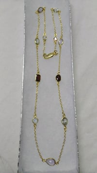 Valentines Gold Gemstone Necklace Edmonton, T5K 2K3