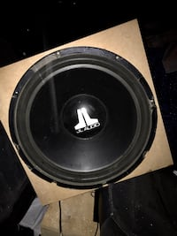 "VERY RARE JL Audio 18w6 w6 18"" inch Subwoofer Sub Seattle"