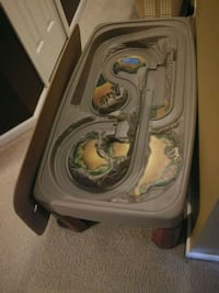 Toy table with car track and cover Jacksonville, 32246