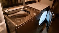 Black and gray front-load washer Catonsville, 21228