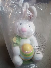 Brand new rocking easter bunny with suprise chick