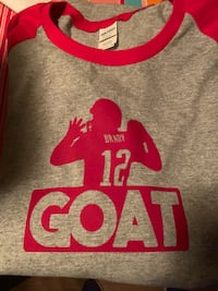 New England Patriot Tom Brady Goat Shirt  Essex, 21221