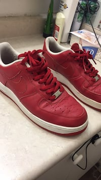 Red Nike Air Force 1s Toronto, M1R 2V1