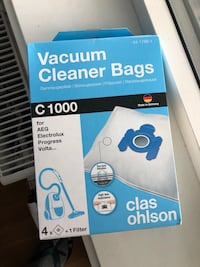 Vacuum Cleaner Bags (New) Oslo, 0276