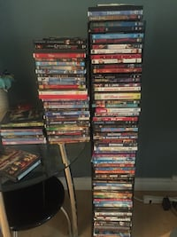 assorted DVD movie case lot Edmonton