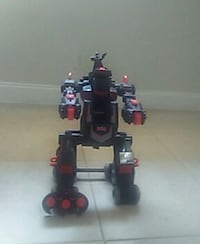 black, gray, and red plastic robot toy Coral Springs, 33065