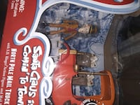 Santa Claus is coming to town S.D Kluger Fingure with Mail Truck Shirley, 01464