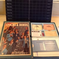 Stocks and Bonds (1960s board game) Los Angeles, 91411