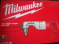 "Milwaukee 1/2"" Right Angle Drill Kit Las Vegas, 89103"