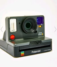 Polaroid one step 2 with viewfinder brand new camera and film!!!